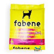 Ração Fabene Mini Bits para Cães Adultos de Porte miniatura e pequeno (2 kg)