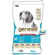Ração Gênesis para Cães de Raças Médias Filhotes e Adultos - Premiatta (6 kg)