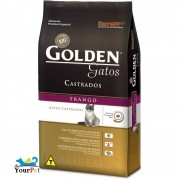 Ração Golden Castrados Frango para Gatos Adultos - PremieR (3 kg)