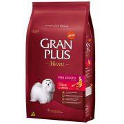 Ração Gran Plus Cães Adultos Miniaturas e Pequenos Carne e Arroz (15 kg) - Affinity Guabi