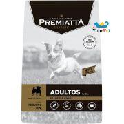 Ração Premiatta Classic Mini Bits para Cães Adultos de Raças Miniaturas e Pequenas (15 kg)