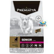 Ração Premiatta Classic Senior Mini Bits para Cães com mais de 7 anos de Raças Miniaturas e Pequenas (7,5 kg)