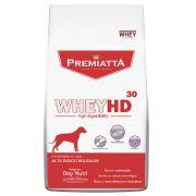 Ração Premiatta HD 30 Whey Protein Raças Médias e Grandes para Cães Adultos (12 kg)