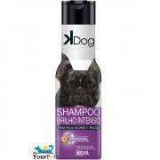 Shampoo Brilho Intenso K Dog para Cães e Gatos de Pelos Escuros ou Opacos - Total Química (500 ml)