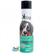Shampoo Hidratante 2 em 1 K Dog para Cães e Gatos - Shampoo e Condicionador - Total Química (500 ml)