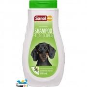 Shampoo Pelos Escuros Sanol Dog para Cães e Gatos - Total Química (500 ml)