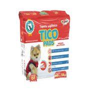 Tapete Higiênico Tico Pads para Cães 60 x 55 cm - Expet (7 unidades)