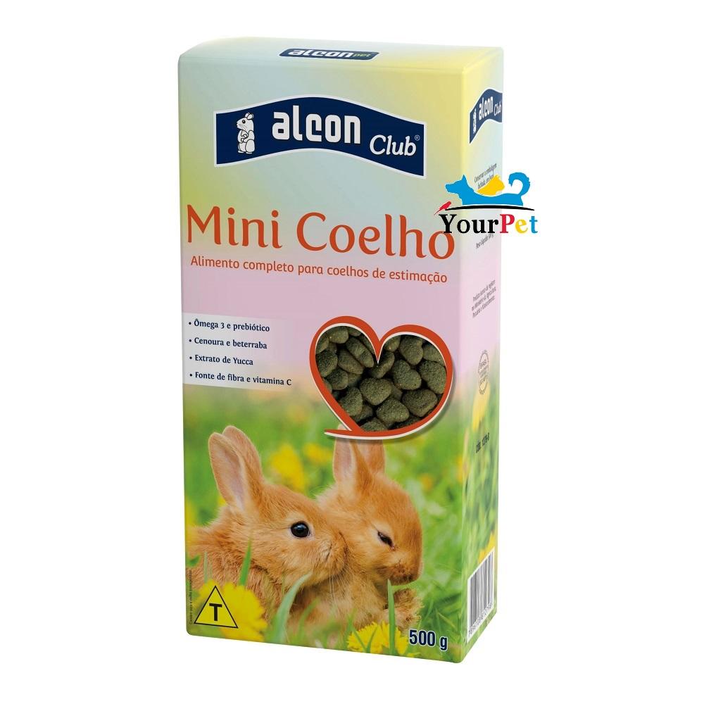 Alcon Club Mini Coelho - Alimento completo para Coelhos de estimação (500 g)