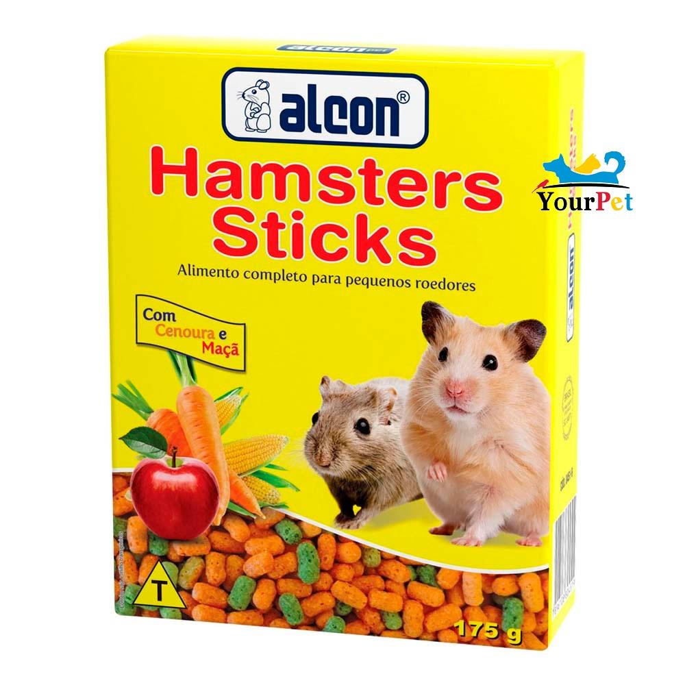 Alcon Hamsters Sticks - Alimento completo para pequenos roedores (175 g)
