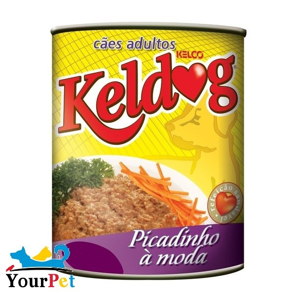Alimento úmido Keldog Lata Picadinho à moda para Cães Adultos (280g)