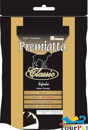 Bifinho Premiatta Classic Sabor Frango para Cães Adultos e Filhotes de todas as raças (400g)