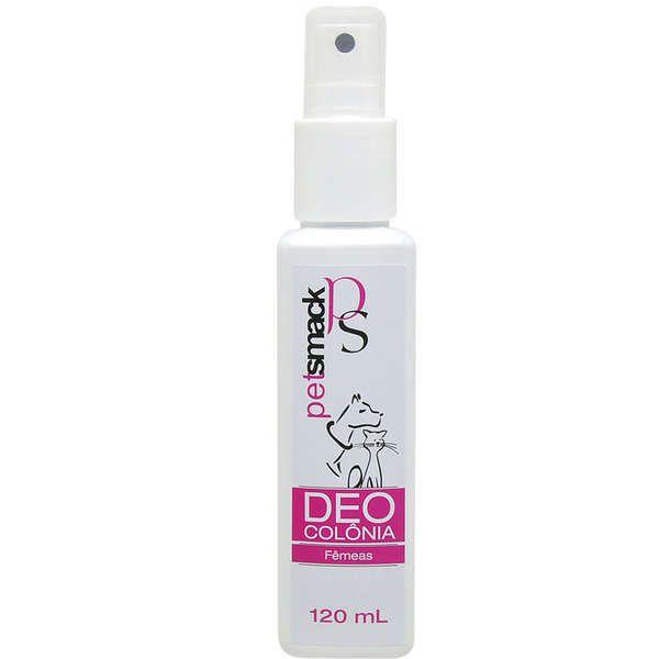 Deocolônia Pet Smack Inspirado no Glow para Cães e Gatos Fêmeas - Centagro (120 ml)