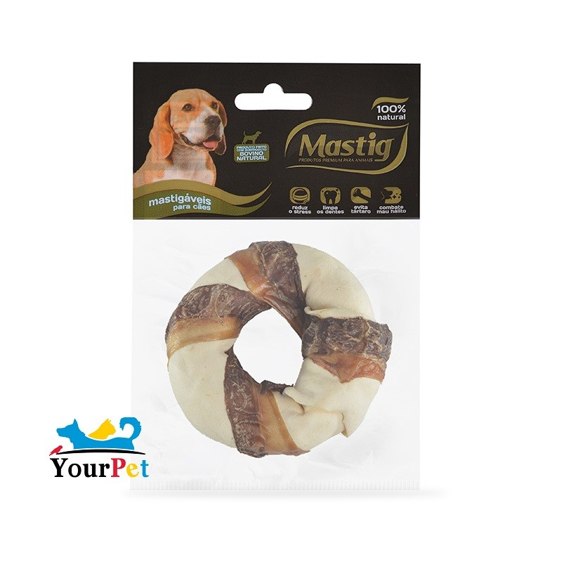 Osso Donut 3 Combo para Cães - Mastig (1 unidade)