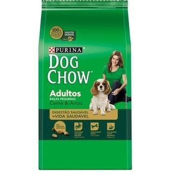 Ração Dog Chow Carne e Arroz para Cães Filhotes de Raças Pequenas - Nestlé Purina (1 kg)