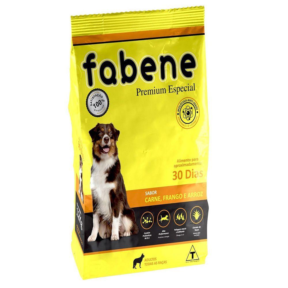 Ração Fabene Cães Adultos de Porte Médio ou Grande - Premiatta (20 kg)