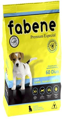 Ração Fabene Filhotes para Cães Filhotes de todas as raças (3 kg)
