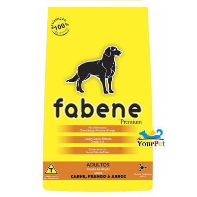 Ração Fabene para Cães Adultos de Porte Médio ou Grande (15 kg)