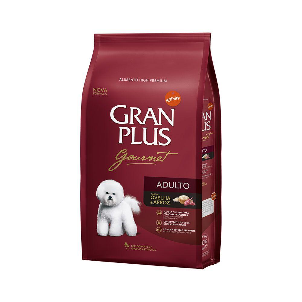 Ração Gran Plus Cães Gourmet Ovelha para Cães Adultos (15 kg) - Affinity Guabi