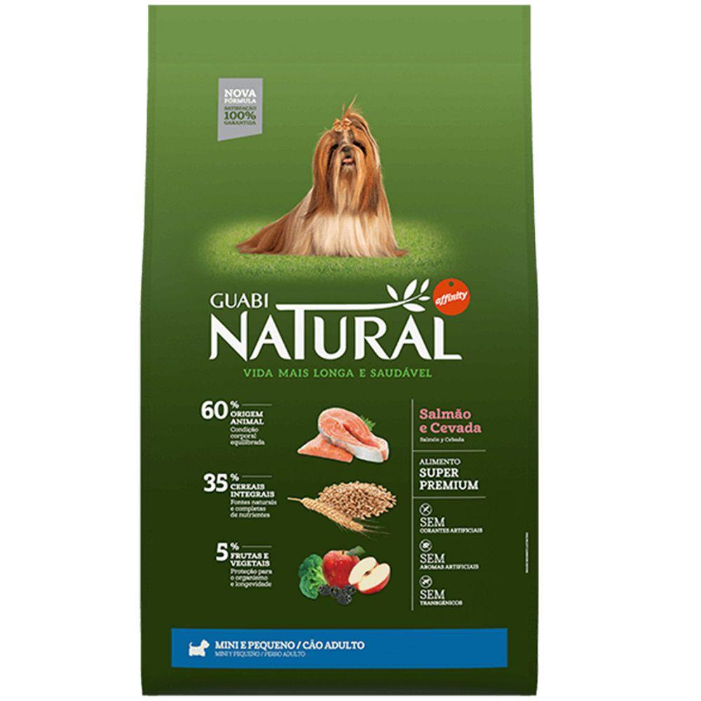 Ração Guabi Natural Cães Adultos Miniaturas e Pequenos Salmão e Cevada (10,1 kg) - Affinity Guabi