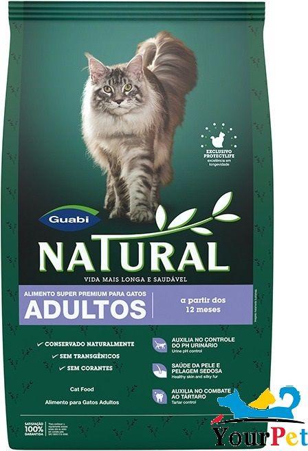 Ração Natural Guabi Gatos Adultos (7,5 kg)