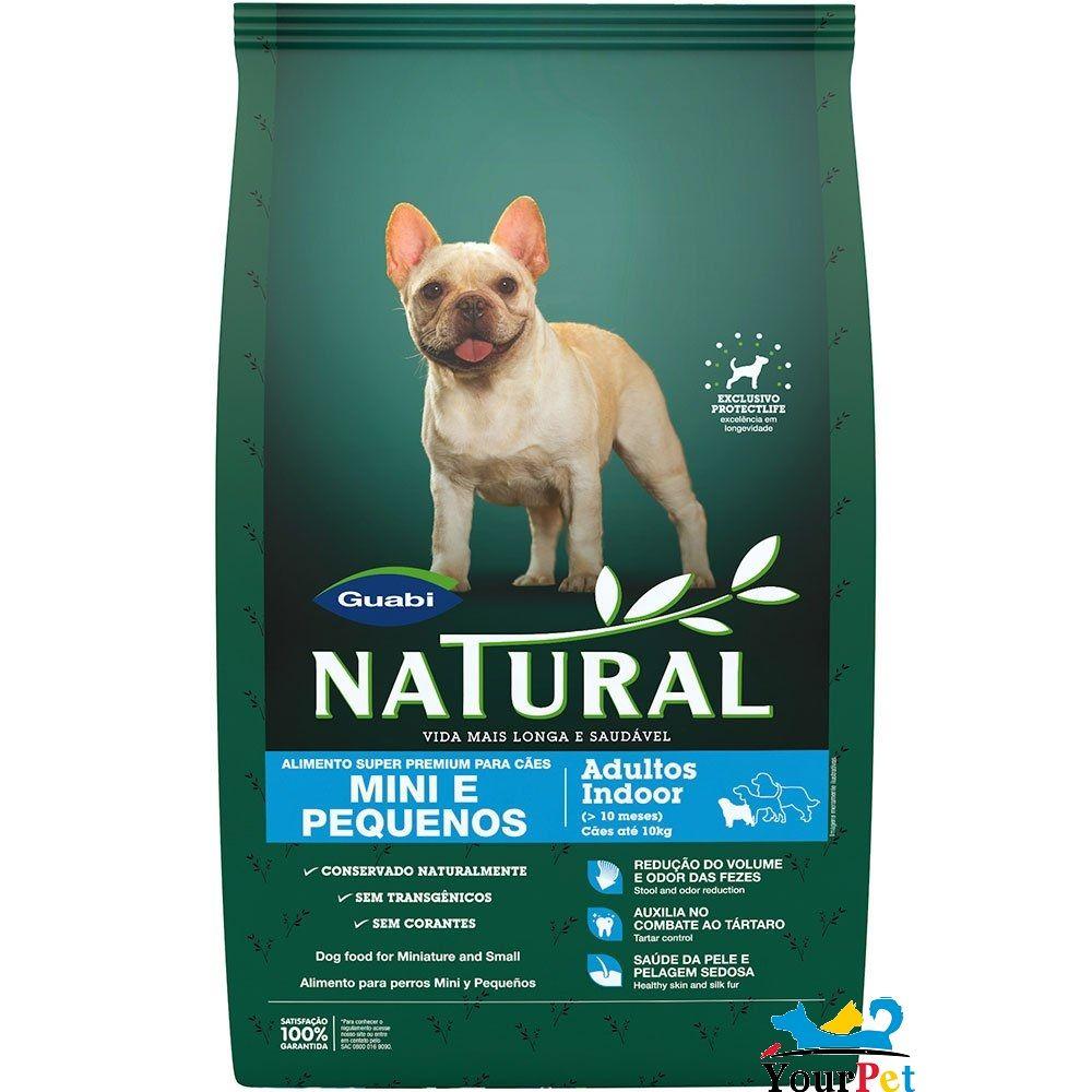 Ração Natural Guabi Mini e Pequenos para Cães Adultos (7,5 kg)