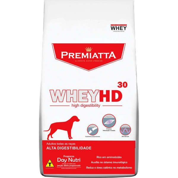 Ração Premiatta HD 30 Raças Médias e Grandes para Cães Adultos (12 kg - 30 pacotes com 400g cada)