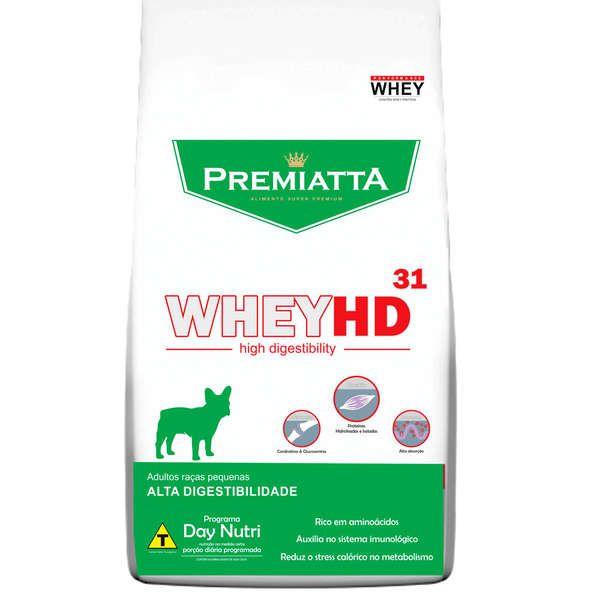 Ração Premiatta HD 31 Raças Pequenas para Cães Adultos (3 kg - 15 pacotes de 200g cada)