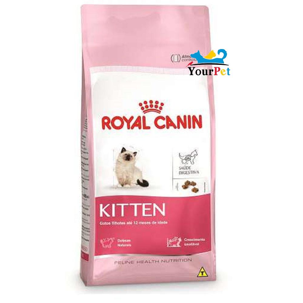 Ração Royal Canin Kitten para Gatos Filhotes até 12 meses de idade (400g)