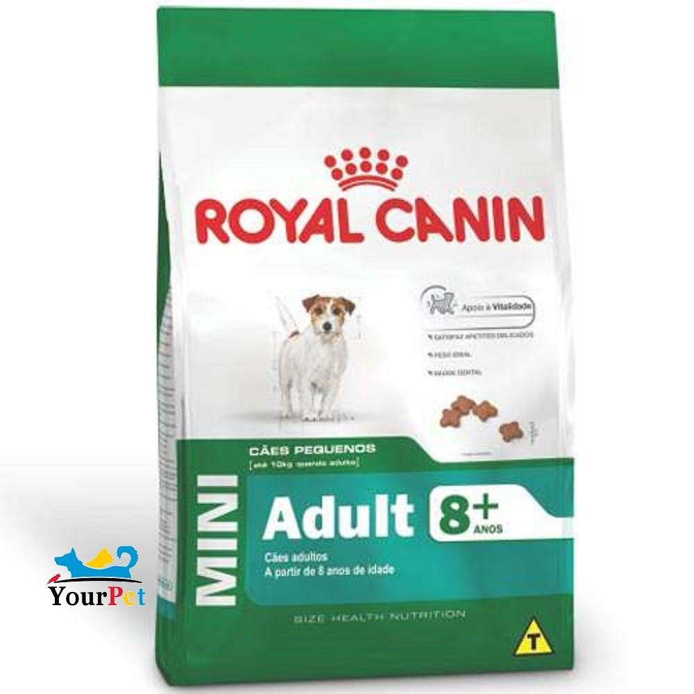 Ração Royal Canin Mini Ageing 12+ para Cães de Porte Pequeno com mais de 12 anos (2,5kg)