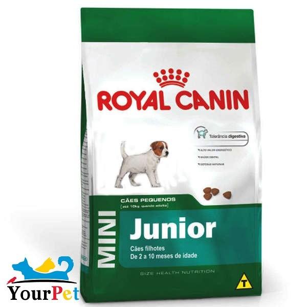 Ração Royal Canin Mini Junior para Cães Filhotes de Porte Pequeno (1 kg)
