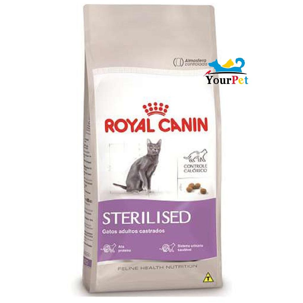 Ração Royal Canin Sterilised para Gatos Adultos Castrados (2,5kg)