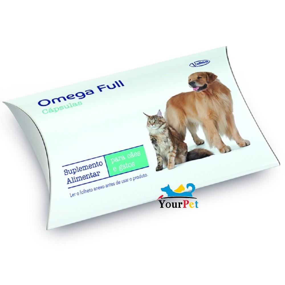 Suplemento Alimentar Omega Full Cápsulas para Cães e Gatos - Vallée (10 cápsulas de 530mg cada)