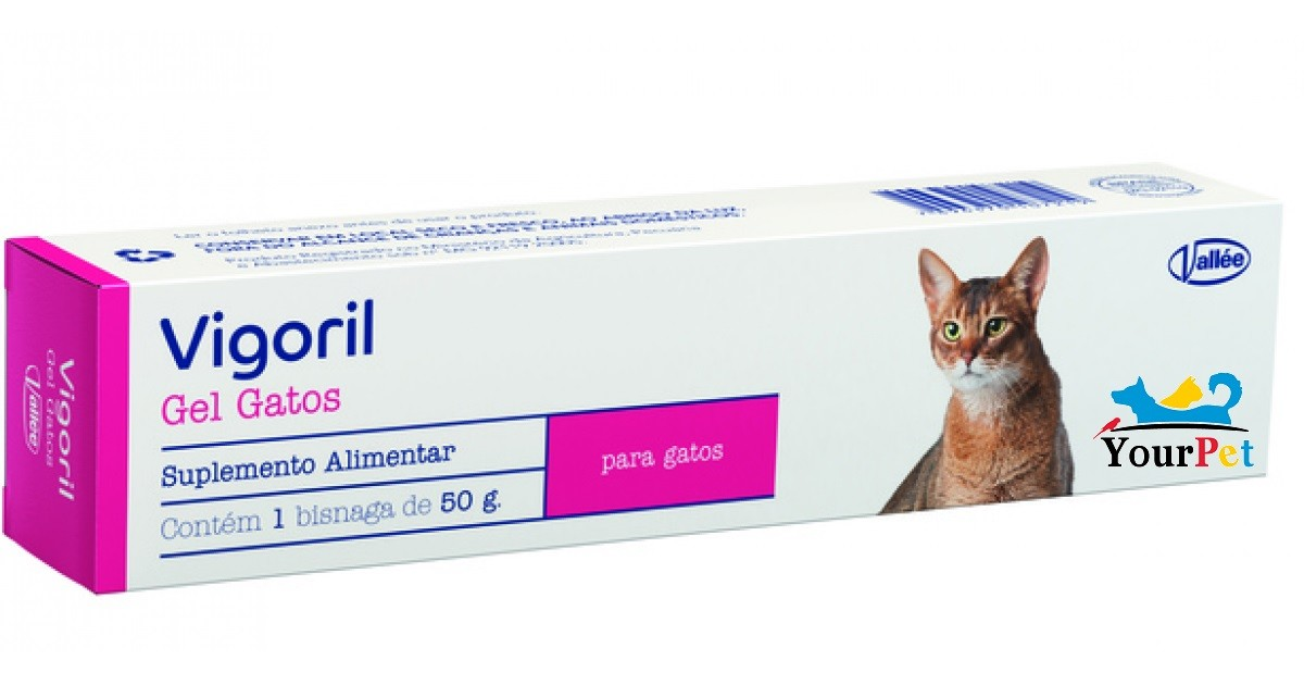 Vigoril Gel Gatos Suplemento Alimentar - Vallée (50 g)