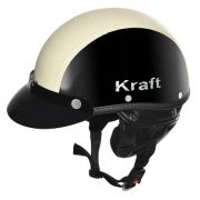 Capacete Kraft Sport Semi-Revestido Bege
