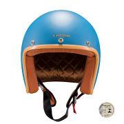 Capacete Lucca Customs Matt Blue