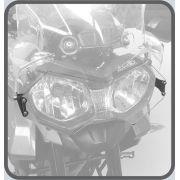 Protetor de Farol - policarbonato - Triumph Tiger 800