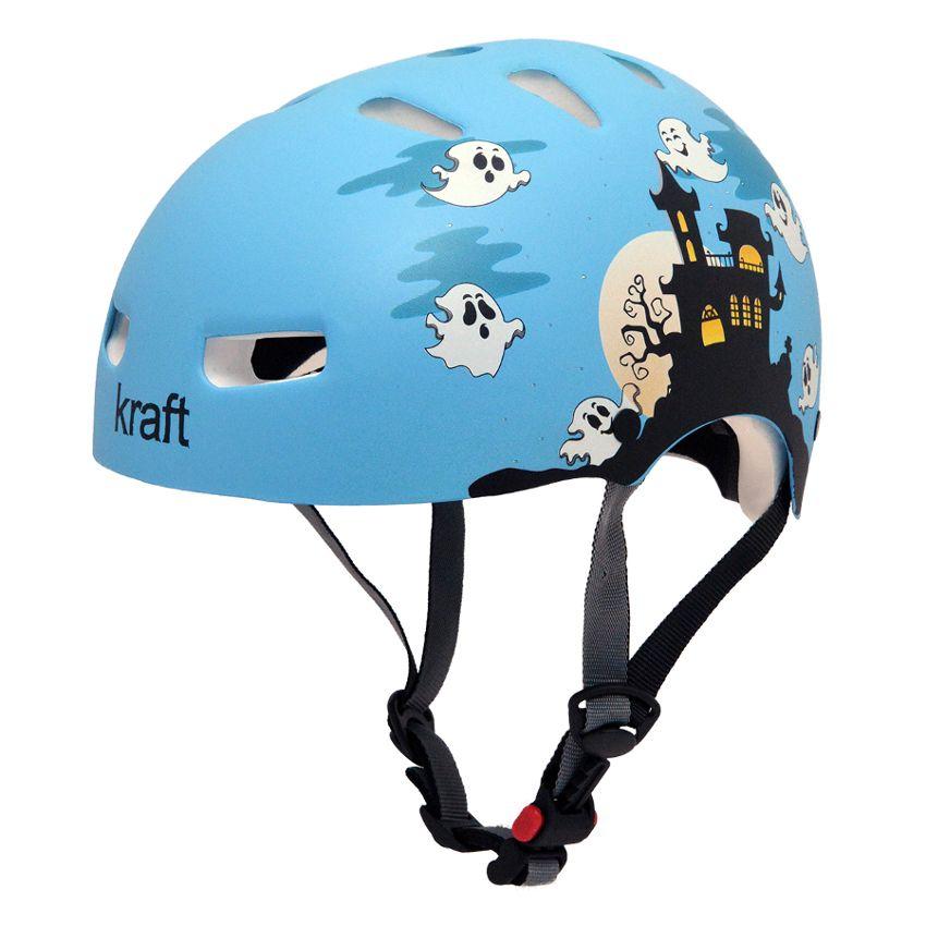 Capacete Kraft Bike Fantasminha