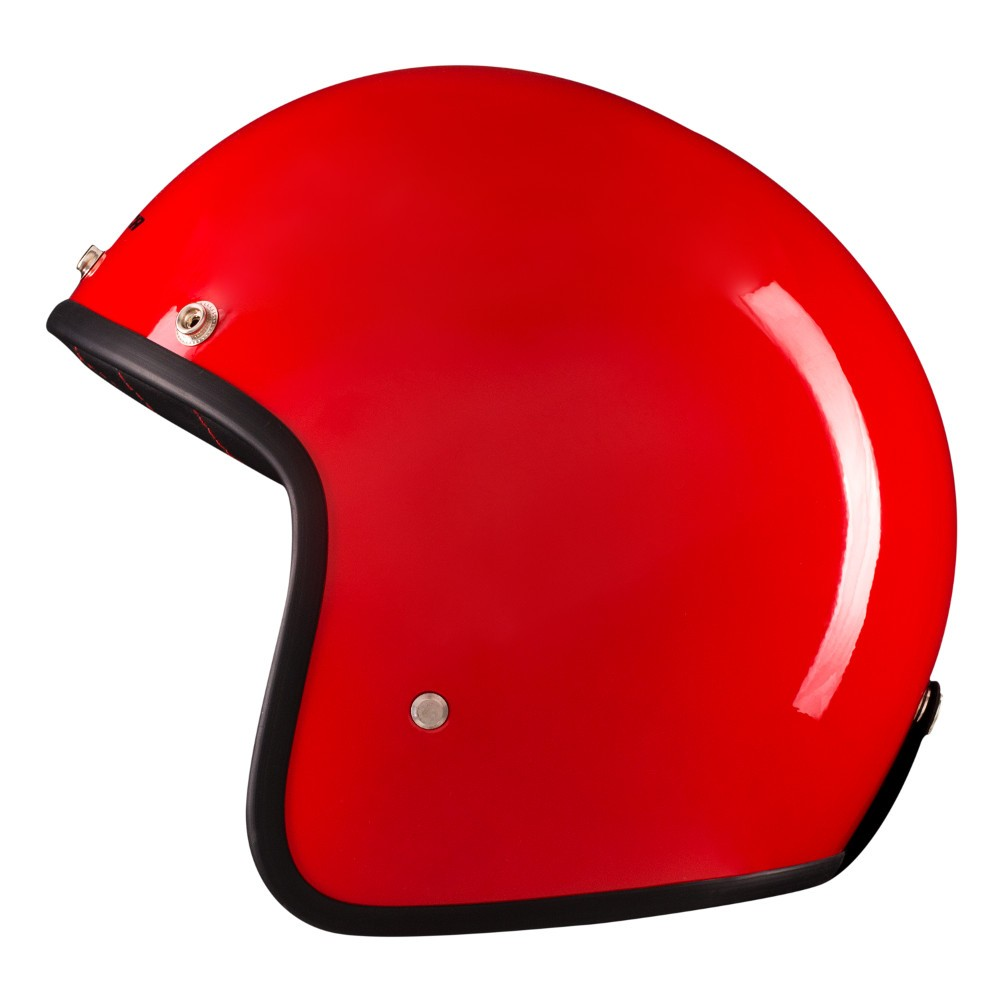 Capacete Lucca Customs Glossy Red