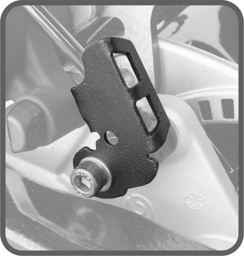 Protetor do Sensor de ABS  BMW F800 GS & BMW F800 GS ADVENTURE