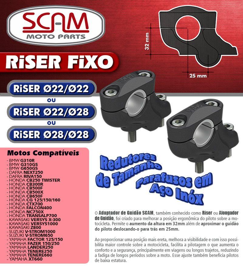 Riser / Alongador de Guidão  HONDA CB500 X