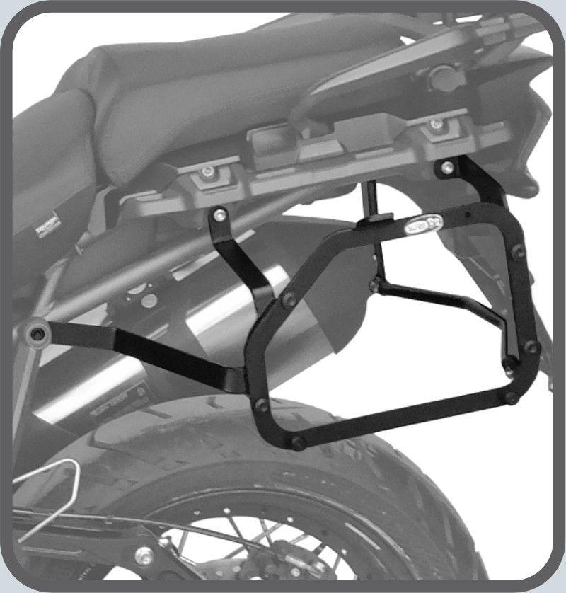 Suporte do Baú Lateral Triumph TIGER 1200 EXPLORER - 2016 em Diante
