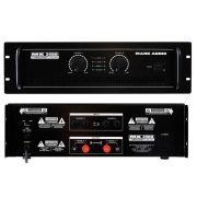 Amplificador Mark Audio Mk2400/D 400W - Cod. Prod.7981
