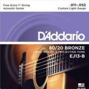 ENCORDOAMENTO DADDARIO VIOLAO EJ13-B+PL011