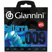 ENCORDOAMENTO GIANNINI GUITARRA 009 GEEGST9