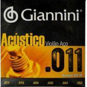 ENCORDOAMENTO GIANNINI VIOLAO BRONZE GESPW 011