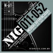 ENCORDOAMENTO NIG GUITARRA -011-EVOLUTION N61