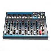 MESA DE SOM ONEAL OMX52 USB EFEITO DIGITAL PHANTOM PFL