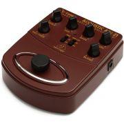 Pedal Para Violão Behringer Adi21 V-Tone Acoustic