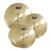 KIT DE PRATO ZEUS B20 BRILLIANT SET C 14 16 20 COM BAG