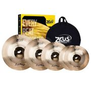 Kit De Prato Zeus B10 Evolution Pro Set D 14 16 18 20 Com Bag